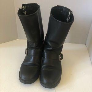 Frye boots black engineer